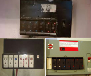 Old Fuseboxes Needing Replacement